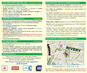 Programme Fête des Jardiniers Rivery 2017